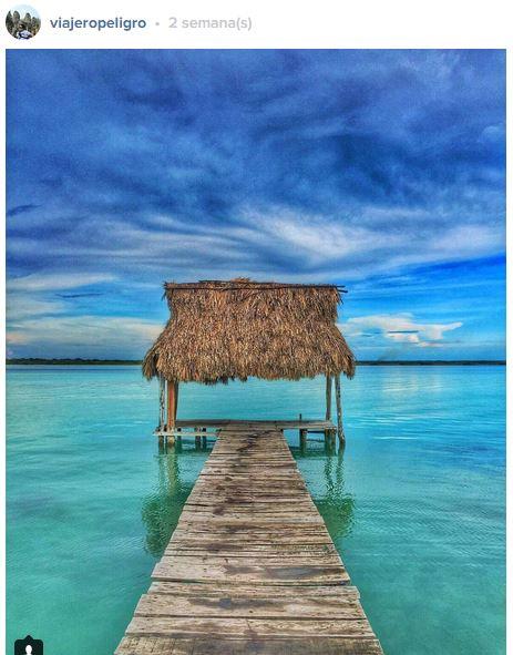 Bacalar- Sigueme en Instagram para ver más fotos @ViajeroPeligro
