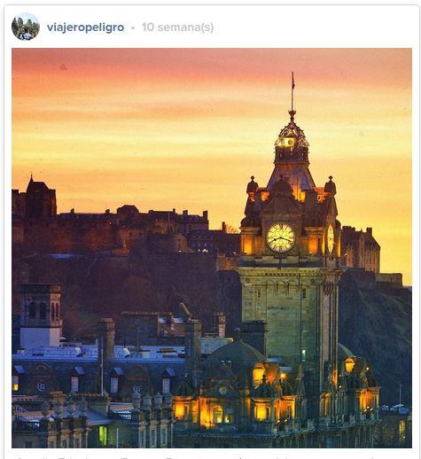 Castillo de Edimburgo - Sigueme en Instagram para ver más fotos @ViajeroPeligro